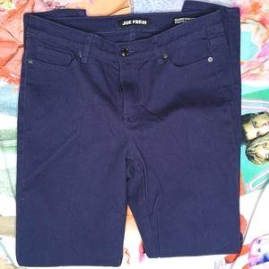 Joe Fresh Classic Slim Navy Blue Jean Size 30